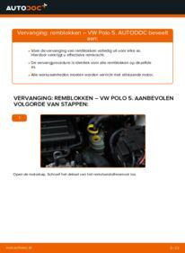 Vervangen: Remblokken 1.6 TDI VW Polo 5 Sedan