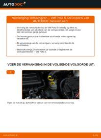 Vervangen: Remschijven 1.6 TDI VW Polo 5 Sedan