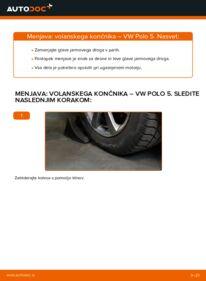 Kako izvesti menjavo: Konec jarmovega droga na 1.6 TDI VW Polo 5 Sedan