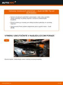 Ako vykonať výmenu: Brzdové Platničky na 2.0 TDI Audi A4 B8 Sedan