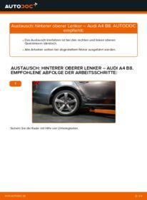 Wie der Wechsel durchführt wird: Querlenker 2.0 TDI Audi A4 B8 tauschen