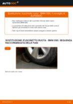 Ssangyong Actyon 1 Ganasce Freno sostituzione: tutorial PDF passo-passo