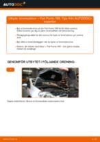 Byta bromsskivor fram på Fiat Punto 199 – utbytesguide