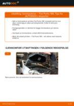 Mekanikerens anbefalinger om bytte av FIAT Fiat 500 312 1.3 D Multijet Oljefilter