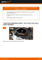 Skifte Dynamo FIAT GRANDE PUNTO: verkstedhåndbok