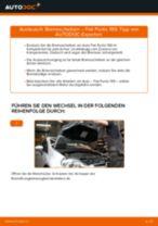 Installation von Spurkopf FIAT GRANDE PUNTO (199) - Schritt für Schritt Handbuch