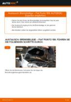 FIAT GRANDE PUNTO (199) Bremsbelagsatz wechseln: Handbuch online kostenlos