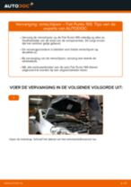 PDF handleiding voor vervanging: Schijfremmen FIAT GRANDE PUNTO (199) achter en vóór