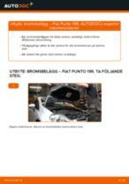 Byta bromsbelägg fram på Fiat Punto 199 – utbytesguide