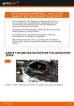 Πώς να αλλάξετε δισκόπλακες εμπρός σε Fiat Punto 199 - Οδηγίες αντικατάστασης