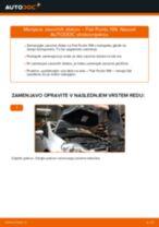 Kako zamenjati avtodel zavorni diski spredaj na avtu Fiat Punto 199 – vodnik menjave