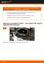 Kako zamenjati avtodel zavorne ploščice spredaj na avtu Fiat Punto 199 – vodnik menjave
