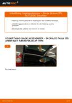 Udskift bagklapsdæmper - Skoda Octavia 1Z5 | Brugeranvisning
