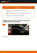 Jak vyměnit vzpery kufru na Skoda Octavia 1Z5 – návod k výměně
