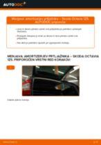 Menjava spredaj levi desni Kolesni lezaj Audi A5 B9 Sportback: vodič pdf