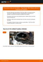 Tutorialul etapizat în format PDF pentru înlocuirea Rulment roata la FIAT GRANDE PUNTO (199)