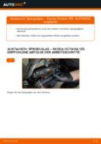 Ratschläge des Automechanikers zum Austausch von SKODA Octavia 1z5 1.6 TDI Ölfilter