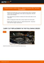 Online manual on changing Accessory Kit, disc brake pads yourself on Polo 6r