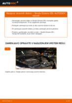Vgraditi Komplet (kit) zobatega jermena SKODA OCTAVIA Combi (1Z5) - priročniki po korakih