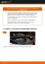 Lépésről-lépésre PDF-útmutató - SKODA OCTAVIA Combi (1Z5) Féktárcsa csere