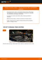 Nomaiņai Salona filtrs SKODA Octavia 1z5 1.6 TDI - remonta instrukcijas