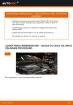 Udskift bremseskiver bag - Skoda Octavia 1Z5 | Brugeranvisning