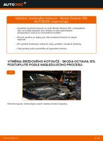 Jak provést výměnu: Brzdovy kotouc na 1.9 TDI Octavia 1z5