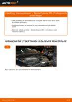 Skifte Holder, stabilisatorlagring SKODA OCTAVIA: gratis pdf