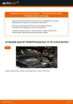 Samodzielna wymiana Zestaw klocków hamulcowych tylne i przednie SKODA - online instrukcje pdf