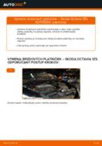 Ako vymeniť predné brzdové platničky na Skoda Octavia 1Z5 – návod na výmenu