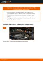 Jak vyměnit zadní brzdové destičky na Skoda Octavia 1Z5 – návod k výměně