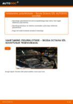 ATE 25684 eest Octavia II Combi (1Z5) | PDF asendamise õpetused