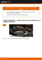 Autószerelői ajánlások - SKODA Octavia 1z5 1.6 TDI Fékbetét csere