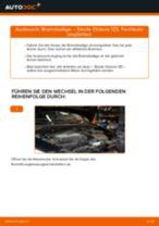 SKODA OCTAVIA Combi (1Z5) Servolenkungsöl wechseln: Handbuch online kostenlos