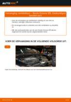 Remblokkenset schijfrem veranderen: pdf handleidingen voor SKODA OCTAVIA