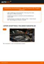 Udskift bremseklodser bag - Skoda Octavia 1Z5 | Brugeranvisning