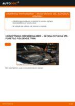 Udskift bremsekaliber for - Skoda Octavia 1Z5 | Brugeranvisning