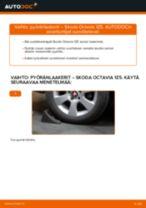 Milloin vaihtaa Pyöränlaakerisarja SKODA OCTAVIA Combi (1Z5): käsikirja pdf