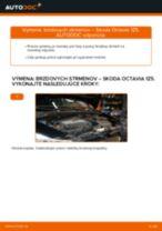 Ako vymeniť predné brzdový strmeň na Skoda Octavia 1Z5 – návod na výmenu