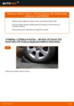 Ako vymeniť zadné ložisko kolesa na Skoda Octavia 1Z5 – návod na výmenu