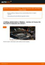 Jak vyměnit přední brzdový třmen na Skoda Octavia 1Z5 – návod k výměně