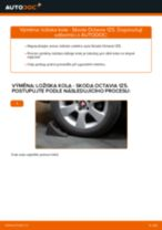 Jak vyměnit zadní ložisko kola na Skoda Octavia 1Z5 – návod k výměně