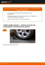 Autószerelői ajánlások - SKODA Octavia 1z5 1.6 TDI Összekötőrúd csere