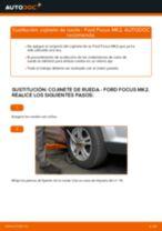 Cómo cambiar: cojinete de rueda de la parte delantera - Ford Focus MK2 | Guía de sustitución