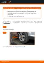 Slik bytter du hjullager fremme på en Ford Focus MK2 – veiledning