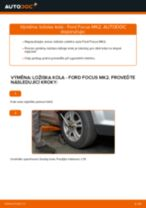 Jak vyměnit přední a zadní Lozisko kola FORD udělej si sám - online návody pdf