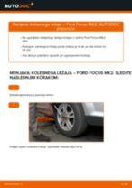 Kako zamenjati avtodel kolesni ležaji spredaj na avtu Ford Focus MK2 – vodnik menjave