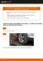 Tutorial passo a passo em PDF sobre a substituição de Casquilho Da Barra Estabilizadora no Toyota Yaris p1