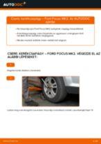 Elülső kerékcsapágy-csere Ford Focus MK2 gépkocsin – Útmutató