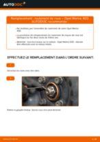 Comment changer : roulement de roue avant sur Opel Meriva X03 - Guide de remplacement
